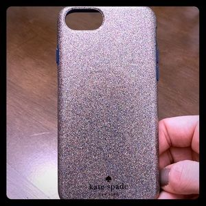 Kate Spade Multi-color glitter for iPhone 7 or 8